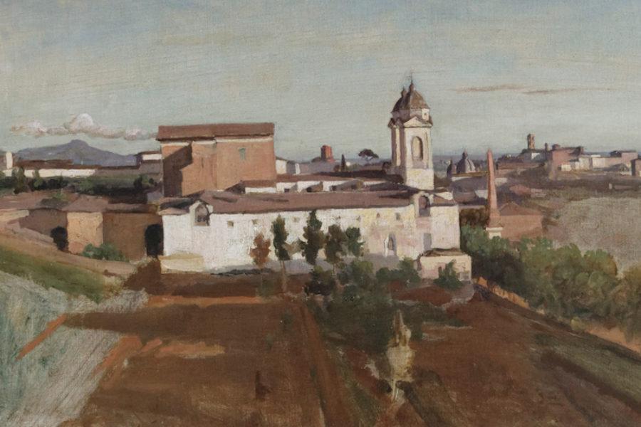 Roberto Colozza – Flâneries de noantri. Il convento di Trinità dei Monti